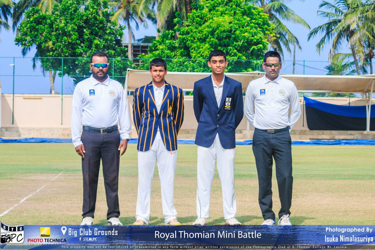 S. Thomas' College 2nd XI vs Royal College 2nd XI- Mini Battle 2020- 6th and 7th March – S. Thomas' College Big Club Grounds