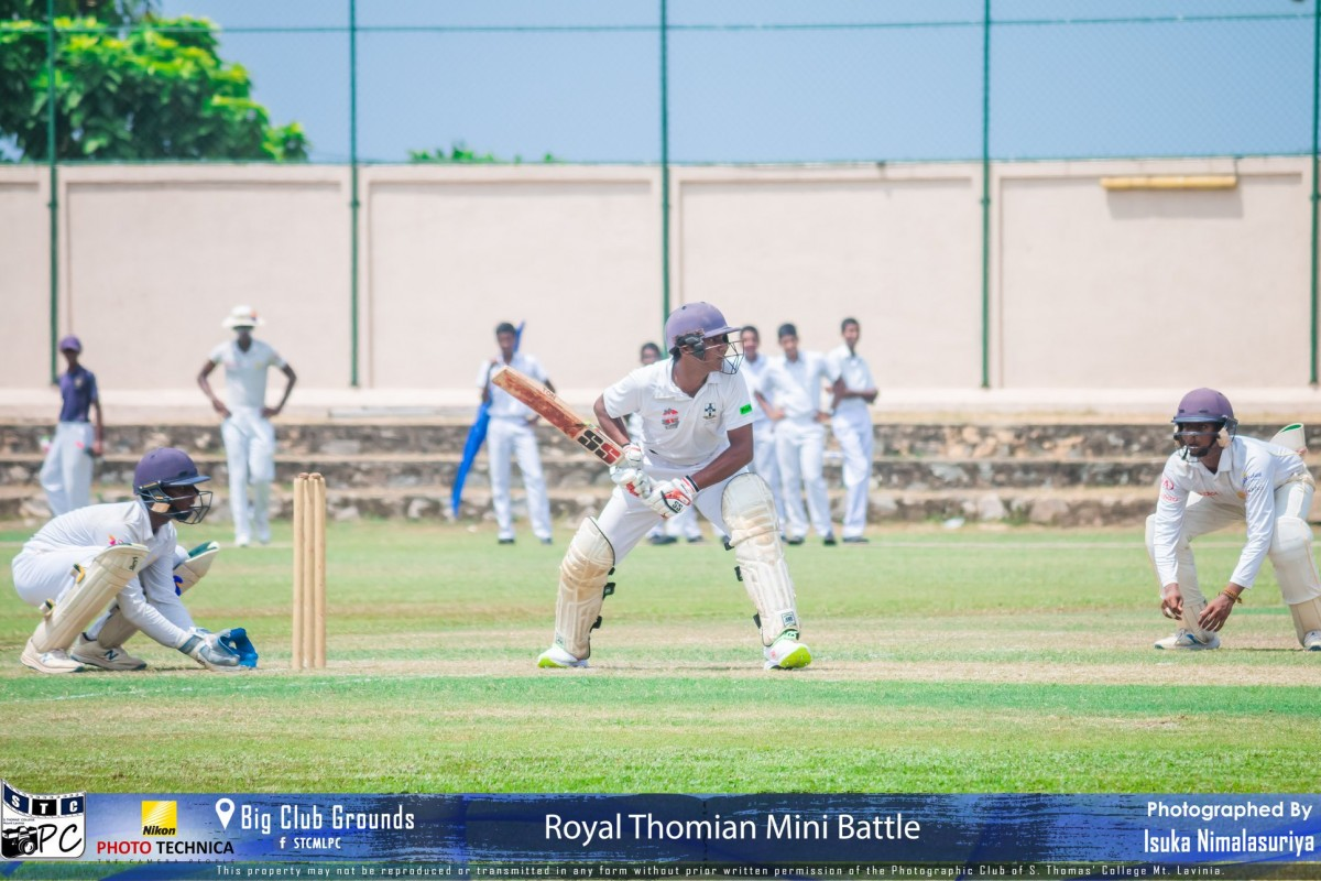 Royal-Thomian Mini Battle ends in draw – STC retains Reid-Gunesekera Shield